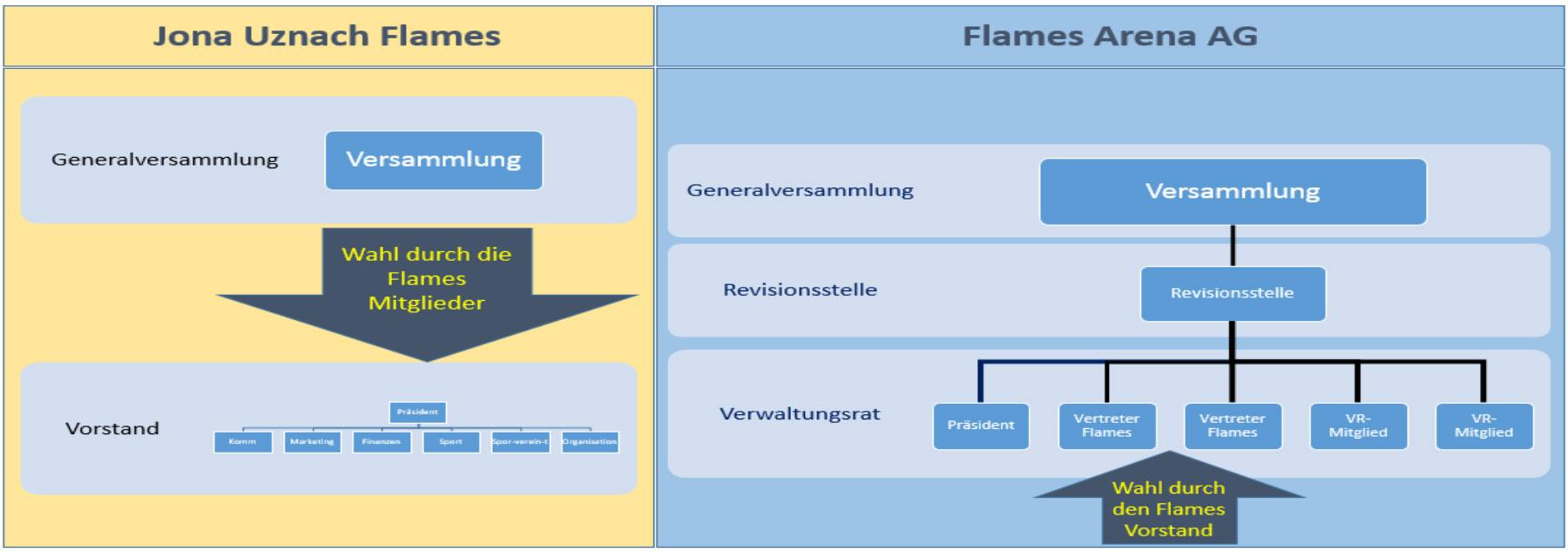 Flames-Arena Organisation