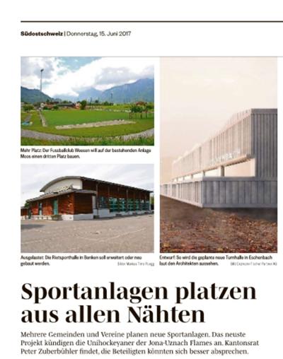 Südostschweiz Flames-Arena