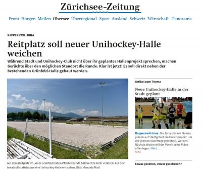 Zürichsee-Zeitung Flames-Arena