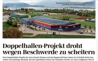 Flames Doppelhallenprojekt droht zu scheitern